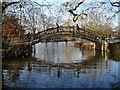 SP5105 : Footbridge crossing the River Cherwell by Philip Halling