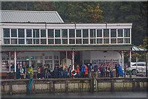 SD3787 : Lakeside : Lakeside Windermere Landing (Pier) by Lewis Clarke