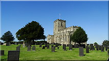 SK4023 : Breedon on the Hill - St Mary & St Hardulph's Church by Colin Park