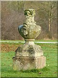 SK6464 : Rufford Abbey Country Park – urn 3 by Alan Murray-Rust