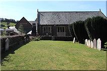 SS9512 : St George's churchyard, Tiverton by Jaggery
