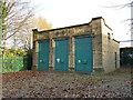 SE1937 : Electrical substation, Harrogate Road, Greengates by Stephen Craven