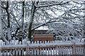 ST1334 : Snow at Crowcombe Heathfield by Marika Reinholds