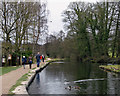 SK3056 : Near the end of the Cromford Canal by John Sutton