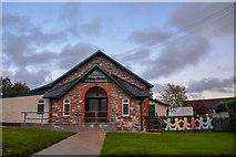 ST2112 : Churchinford : Village Hall by Lewis Clarke
