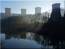SJ6503 : Cooling towers of Ironbridge Power Station by Philip Halling