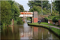 SJ8934 : Trent and Mersey Canal at Stone in Staffordshire by Roger  Kidd