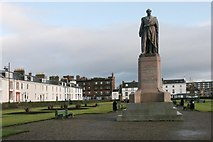 NS3321 : Statue, Wellington Square by Richard Sutcliffe
