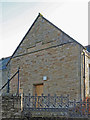 NY8355 : The former Allendale First School - northwest gable by Mike Quinn