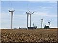 TL5753 : Turbines at Wadlow Wind Farm by John Sutton