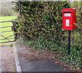 SN8000 : Queen Elizabeth II postbox, Bryn Golwg, Clyne by Jaggery