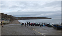 TA1280 : Coble Landing and the beach, Filey by habiloid