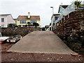 SX9372 : Slipway into the Teign estuary, Shaldon by Jaggery