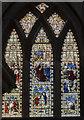 SK6287 : Stained glass window, Ss Mary & Martin's church, Blyth by Julian P Guffogg