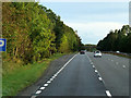 NS3340 : Layby on Southbound A78 near Irvine by David Dixon