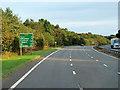 NS3241 : Southbound A78 near Eglinton by David Dixon