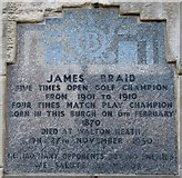 NT4899 : Plaque on Earlsferry Town Hall by Bill Kasman