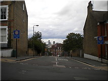 TQ4077 : South end of Halstow Road, Greenwich by Richard Vince