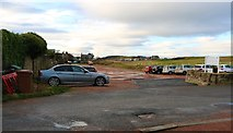 NO4800 : Car Park, Elie by Bill Kasman