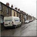SO2508 : Roger Jones & Sons van, High Street, Blaenavon by Jaggery