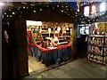 SE6051 : Christmas Market stall in St Sampson's Square by Oliver Dixon