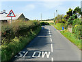 NR9322 : A841 at Sliddery by David Dixon