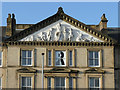 TA0829 : Former Hull College, Park Street building - pediment by Stephen Craven