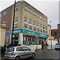 SO8505 : Poundland in former Woolworths, King Street, Stroud by Jaggery