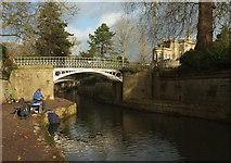 ST7565 : Footbridge over Kennet and Avon Canal by Derek Harper