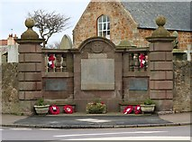 NO4900 : Elie War Memorial by Bill Kasman