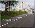 SN8000 : Warning sign - Patrol/Hebryngwr, Clyne by Jaggery