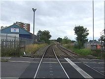SO9988 : Railway towards Rowley Regis by JThomas