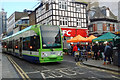 TQ3265 : Tram, Church Street, Croydon by Robin Drayton