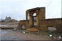 SE1533 : Remains of Drummond Mill, Lumb Lane, Bradford by habiloid