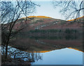 NY1221 : Mirror-like surface of Loweswater by Trevor Littlewood