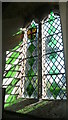 SO4245 : Window inside St. Michael & All Angels Church (South Aisle | Mansel Lacy) by Fabian Musto