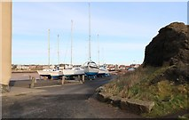 NT4999 : Elie Harbour by Bill Kasman