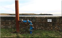 NT4999 : Waste water treatment facility at Elie Harbour by Bill Kasman