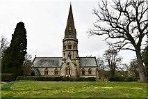 TQ1450 : Ranmore Common, St. Barnabas Church: Southern aspect by Michael Garlick