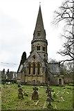 TQ1450 : Ranmore Common, St. Barnabas Church: Western aspect by Michael Garlick