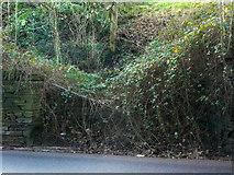 SE1323 : Disused gateway, Brookfoot Lane, Southowram by Humphrey Bolton