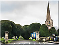 SO8609 : St Mary's Church, Painswick by Ian Capper