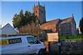 SS5022 : Huntshaw : St Mary's Church by Lewis Clarke
