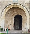 ST9387 : Malmesbury Abbey - South Porch by Rob Farrow
