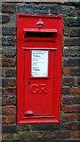 TA0339 : George V postbox on Minster Yard North, Beverley by JThomas