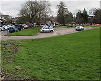SP0202 : Parking area near  Powell's Church of England Primary School, Cirencester by Jaggery