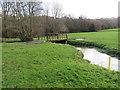 TQ3941 : Eden Brook near Dormansland by Malc McDonald