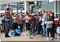 ST7182 : Christmas Carols, Yate Shopping Centre, Gloucestershire 2019 by Ray Bird