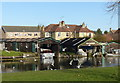 TL4659 : Two Tees Boatyard, Chesterton by Alan Murray-Rust