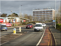 SO8555 : Tallow Hill, Worcester by Chris Allen